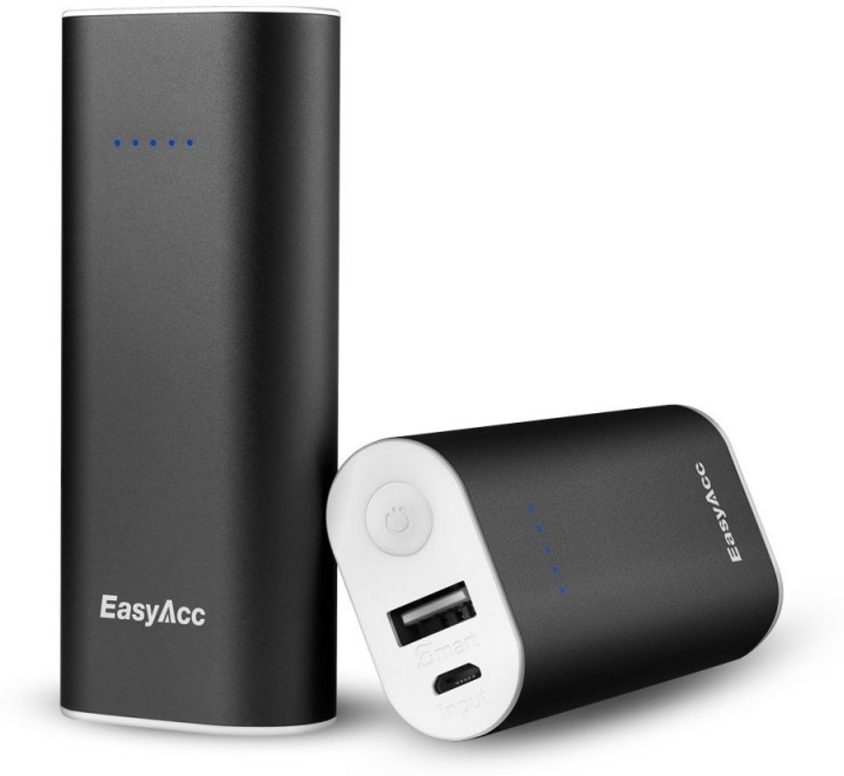6.700 mAh Quick charge powerbank - Aluminium