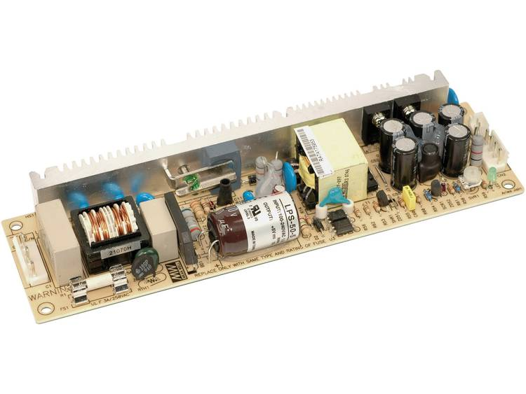 AC/DC inbouwnetvoeding open Mean Well LPS-50-24 24 V/DC 2.1 A