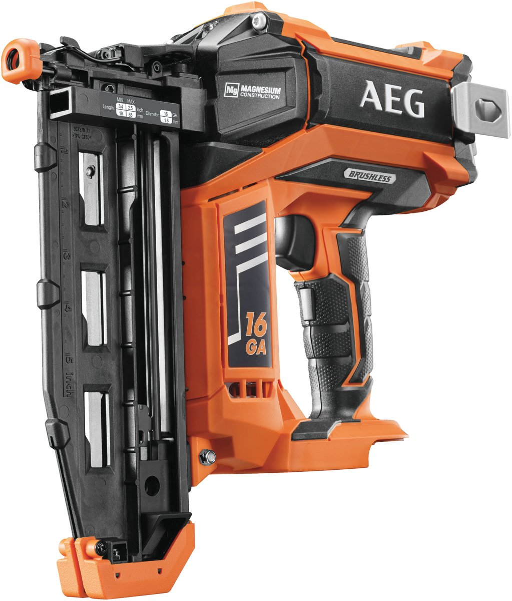 AEG B16N16 Tacker - 18V - 16Ga - Koolborstelloos - Body