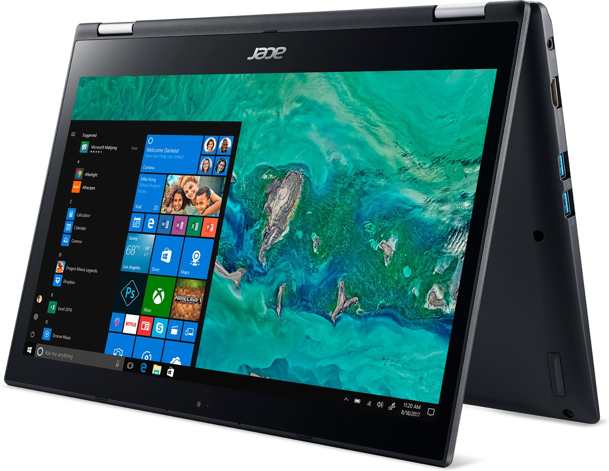 Acer Spin 3 SP314-51-P0AM - 2-in-1 Laptop - 14 Inch