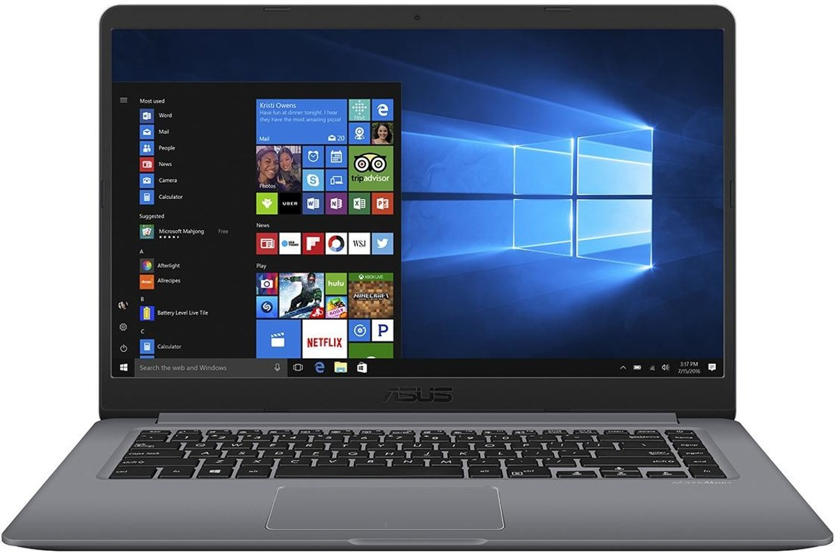 Asus VivoBook 15 A510QR-EJ063T-BE - Laptop - 15.6 Inch - Azerty