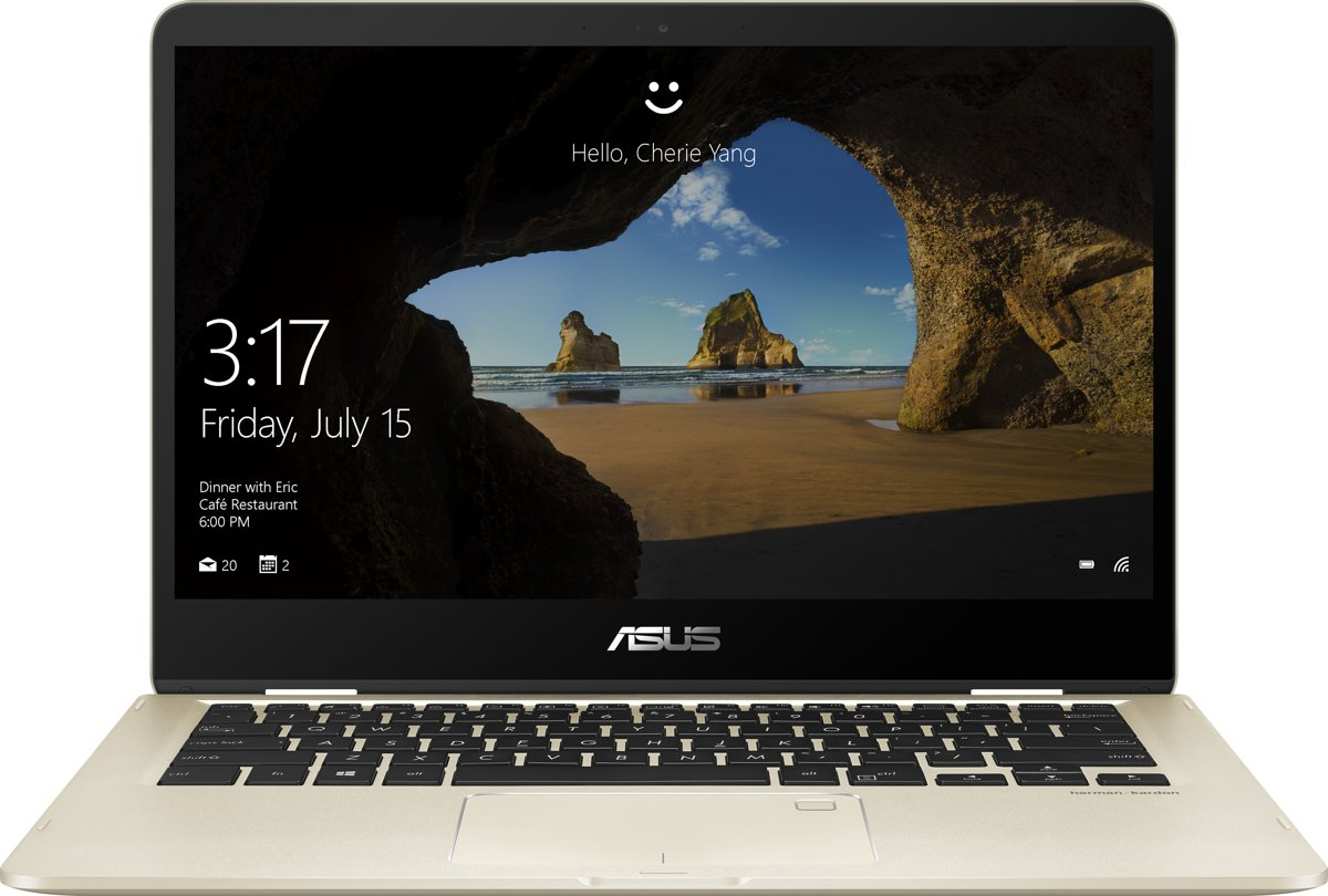 Asus ZenBook Flip 14 UX461FA-E1131T - 2-in-1 Laptop - 14 Inch - Azerty
