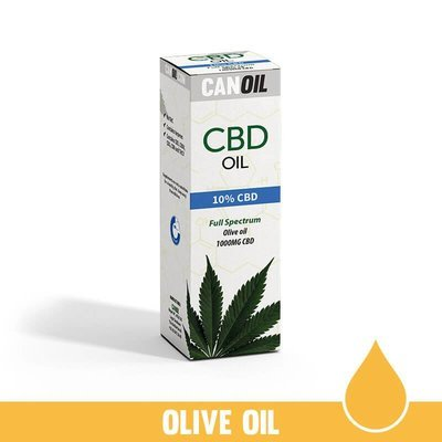 CBD Olie 10% (1000 MG) 10ML Full Spectrum Olijf olie