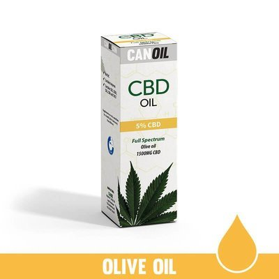 CBD Olie 5% (1500 MG) 30ML Full Spectrum Olijf olie