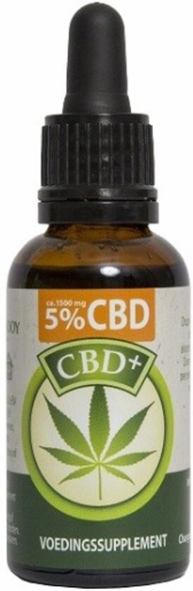 CBD Olie 5 % CBD, 10 ml