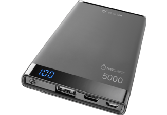 CELLULAR-LINE Portable Charger Manta 5.000 mAh USB-C Zwart