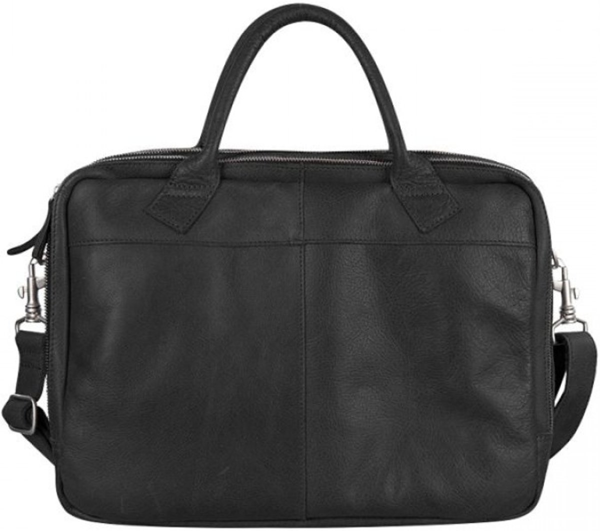 Cowboysbag Crossbodytassen Laptop Bag Fairbanks 13-15 inch Zwart