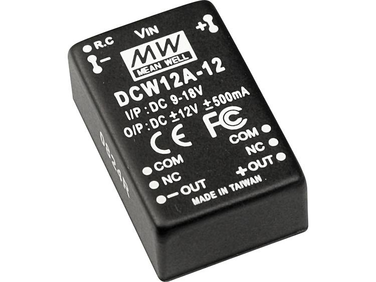 DC / DC converter Mean Well DCW12C-05 1200 mA