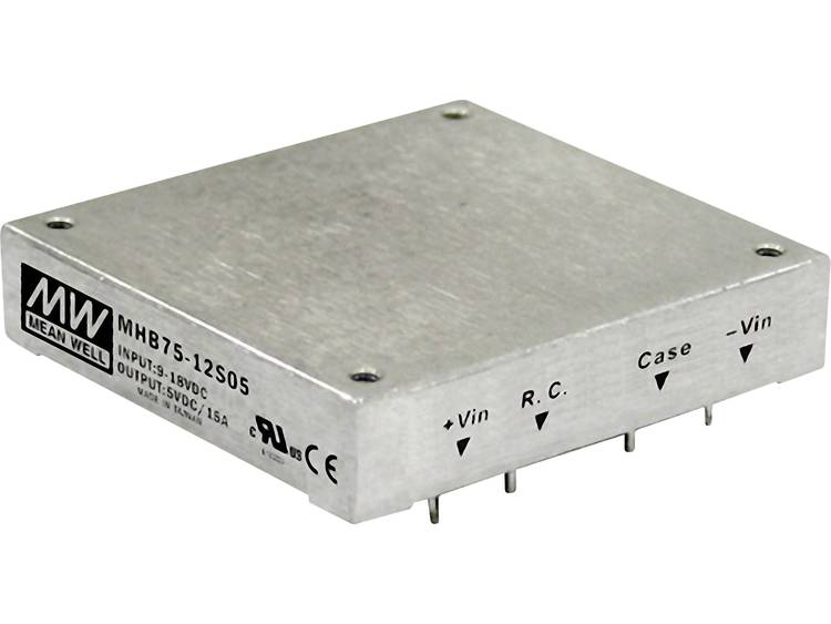 DC / DC converter Mean Well MHB75-24S05 15 A