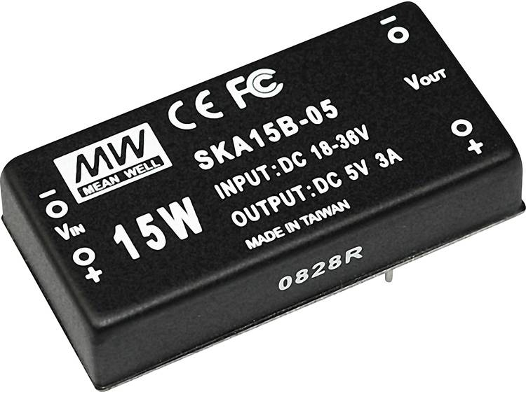 DC / DC converter Mean Well SKA15B-05 3000 mA