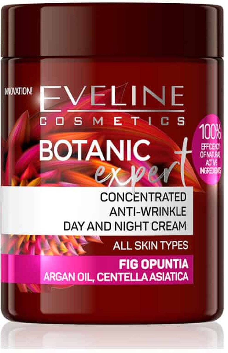 Eveline Cosmetics Botanic Expert Concentrated Anti-wrinkle Day & Night Cream Fig Opuntia 100ml.