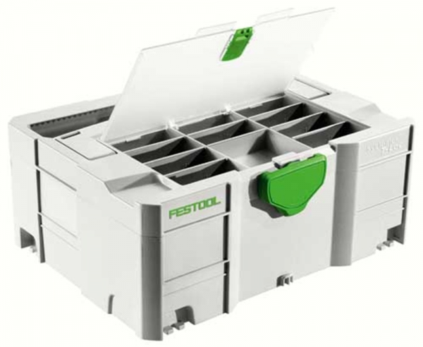 Festool 498390 / SYS 3 TL-DF Systainer 396 x 296 x 210mm