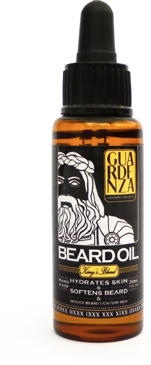 Guardenza Baardolie King's Blend - 30ml - Baardverzorging