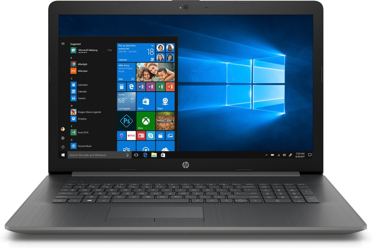 HP 17-by1848nd - Laptop - 17.3 Inch