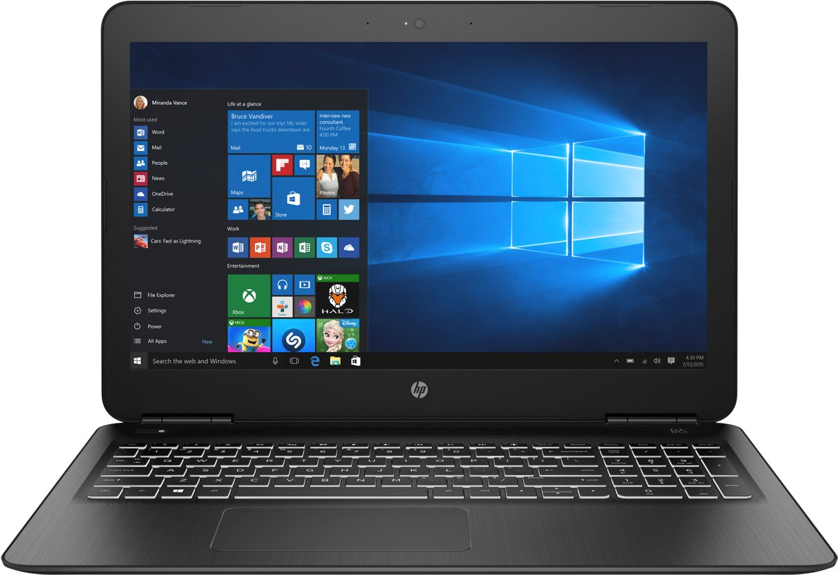 HP Pavilion 15-bc553nd - Laptop - 15.6 Inch