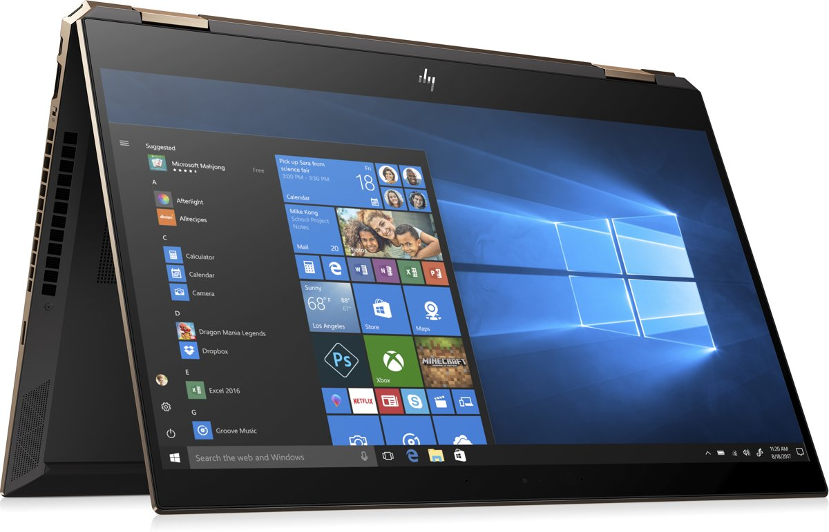 HP Spectre x360 13-ap0006nb - 2-in-1 Laptop - 13.3 inch - Azerty