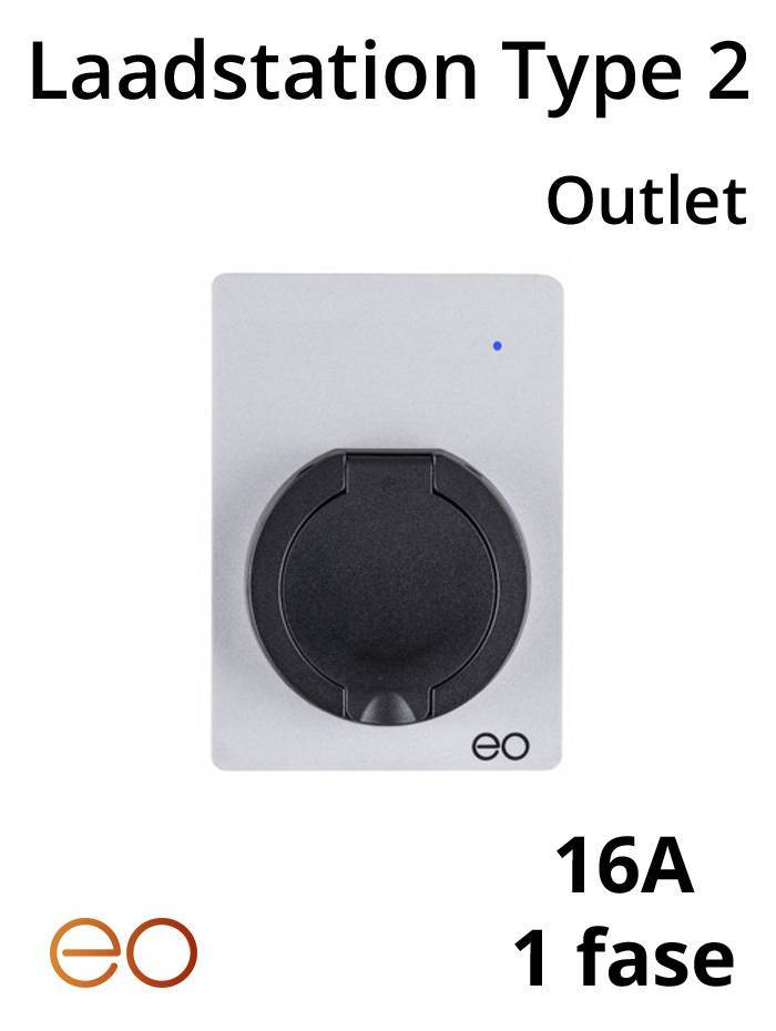 Laadstation type 2 Outlet 16A