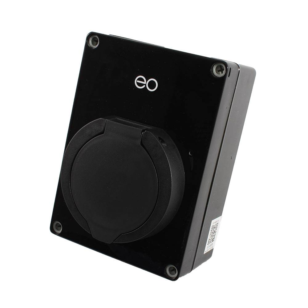 Laadstation type 2 Outlet 32A Zwart
