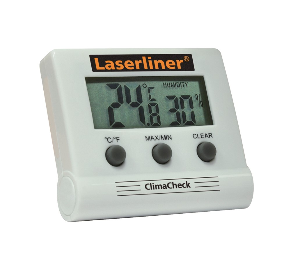 Laserliner ClimaHome-Check Thermo- hygrometer - 0°C t/m 50°C