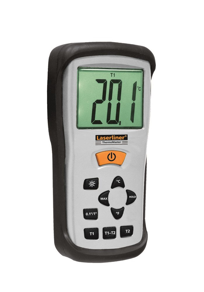 Laserliner ThermoMaster Digitale Thermometer incl. 2x thermoprobe - Type K