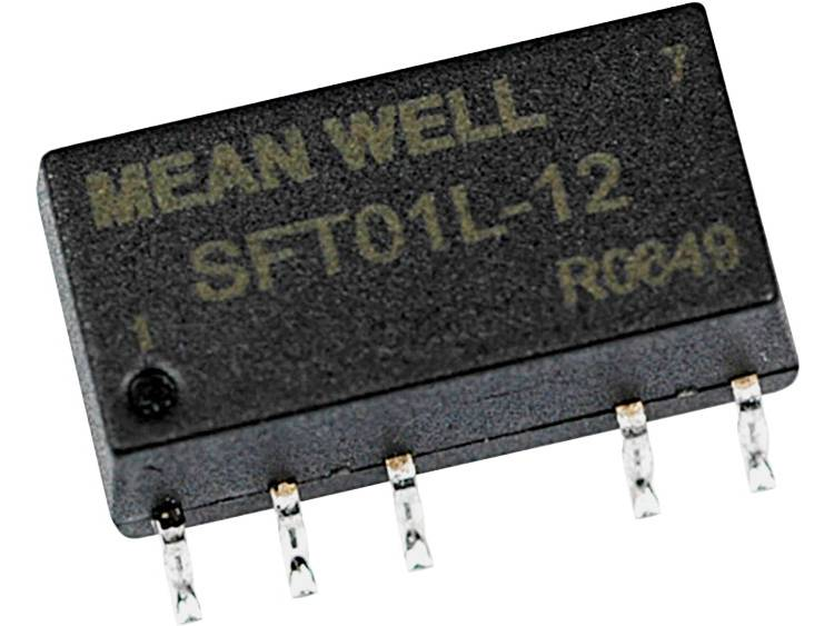 Mean Well SFT01L-15 DC/DC-converter, SMD 5 V/DC 15 V/DC 67 mA 1 W Aantal uitgangen: 1 x