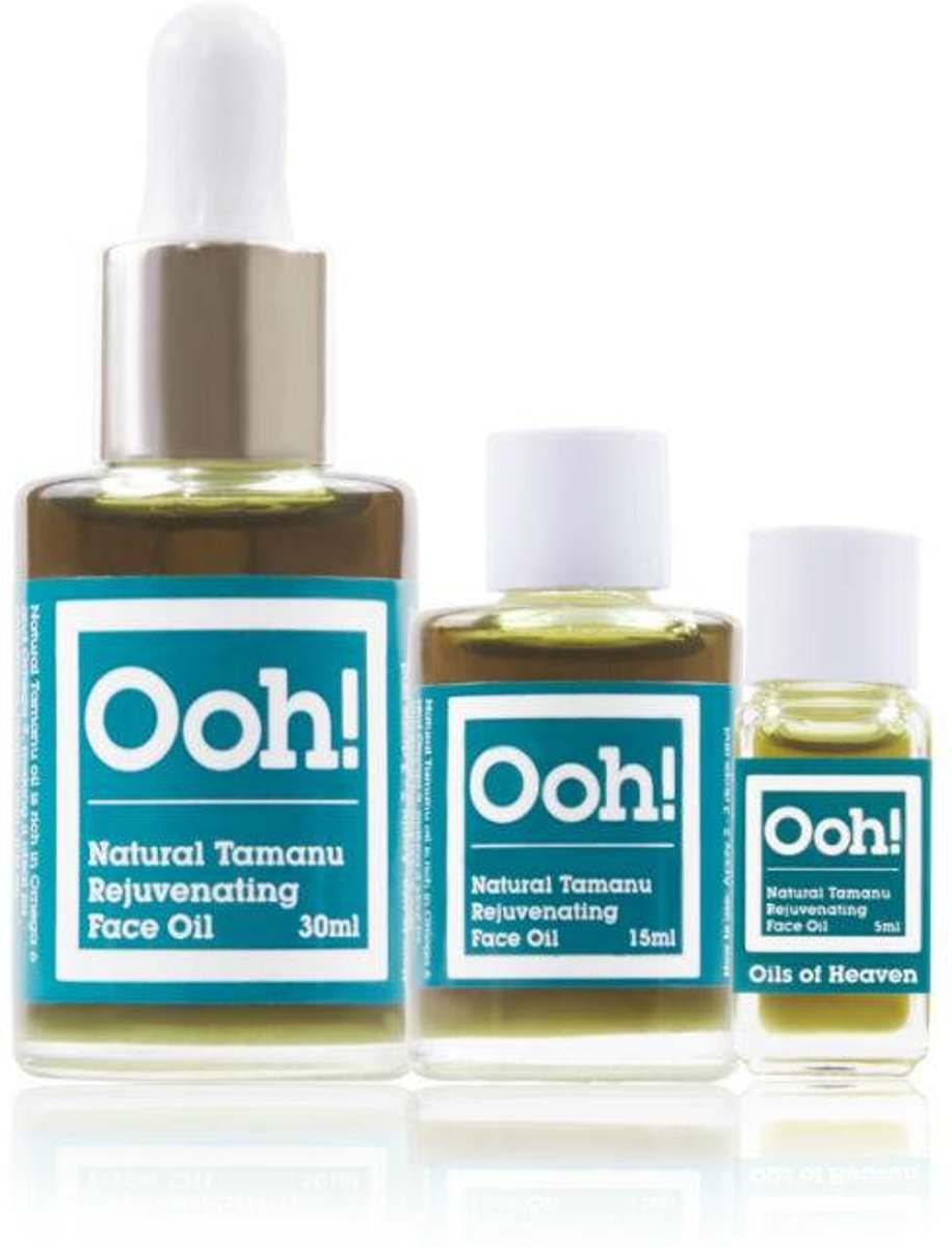 Oils Of Heaven Organic Tamanu Rejuvenating Oil