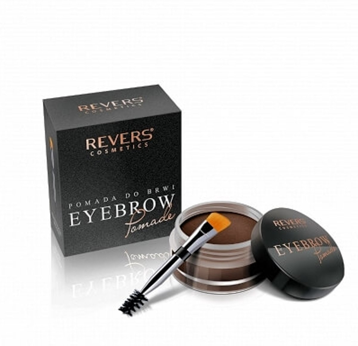 REVERS® Eyebrow Pomade Met Argan Olie #03 - Brown