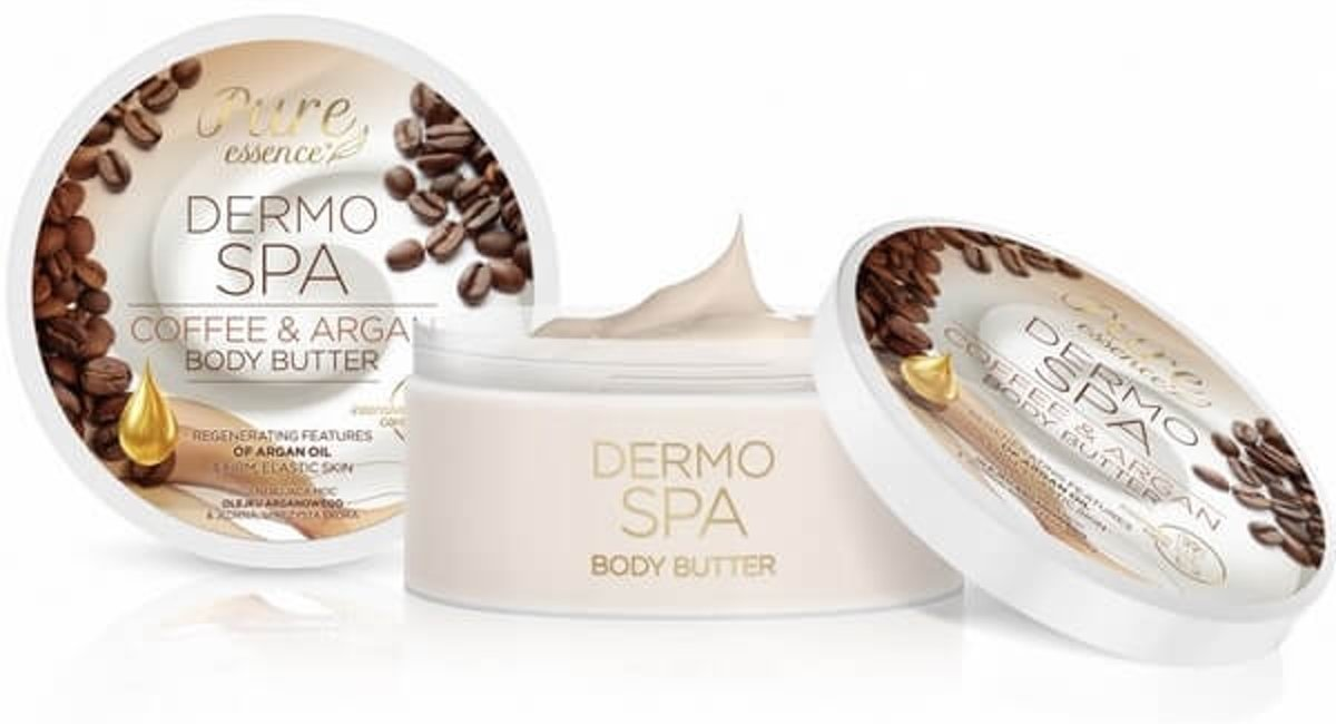 REVERS® Pure Essence Body Butter Coffee & Argan 200ml.