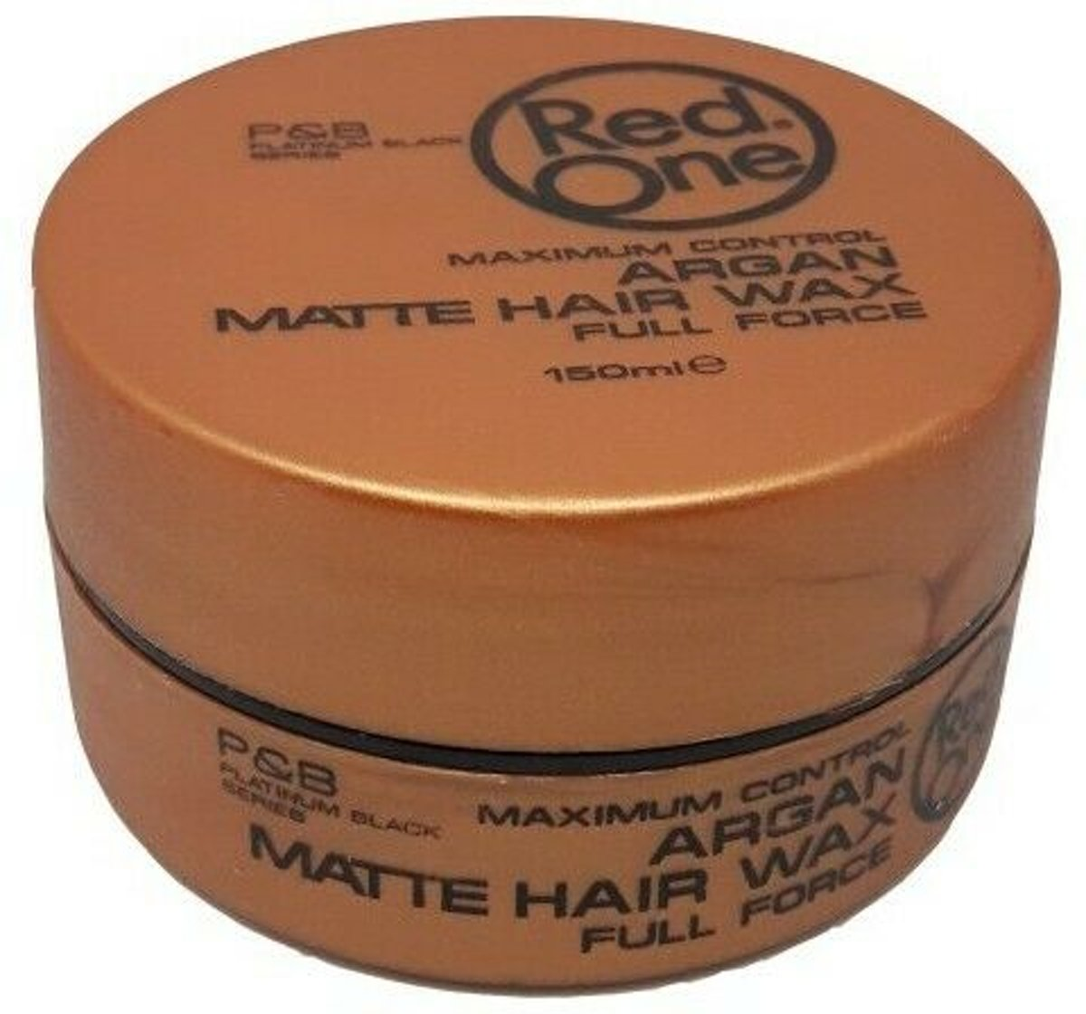 Red One Maximum Control Argan Matte Hair Wax 150ml