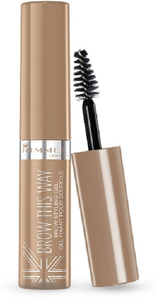 Rimmel London Brow This Way Brow Styling Gel - 001 Blonde