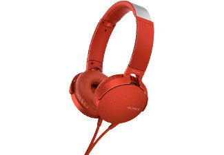 SONY MDR-XB550 rood