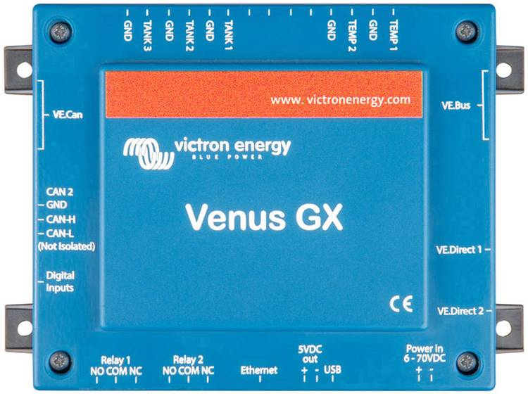 Victron Energy Afstandsbediening BPP900400100 143 mm x 45 mm x 96 mm