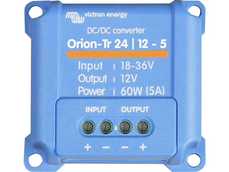 Victron Energy Orion-Tr 24/12-5 DC/DC-converter - 60 W