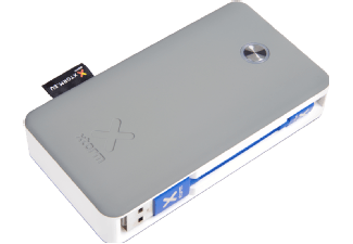 XTORM XB200LU Powerbank Travel Lightning 6.000 mAh Grijs/Wit