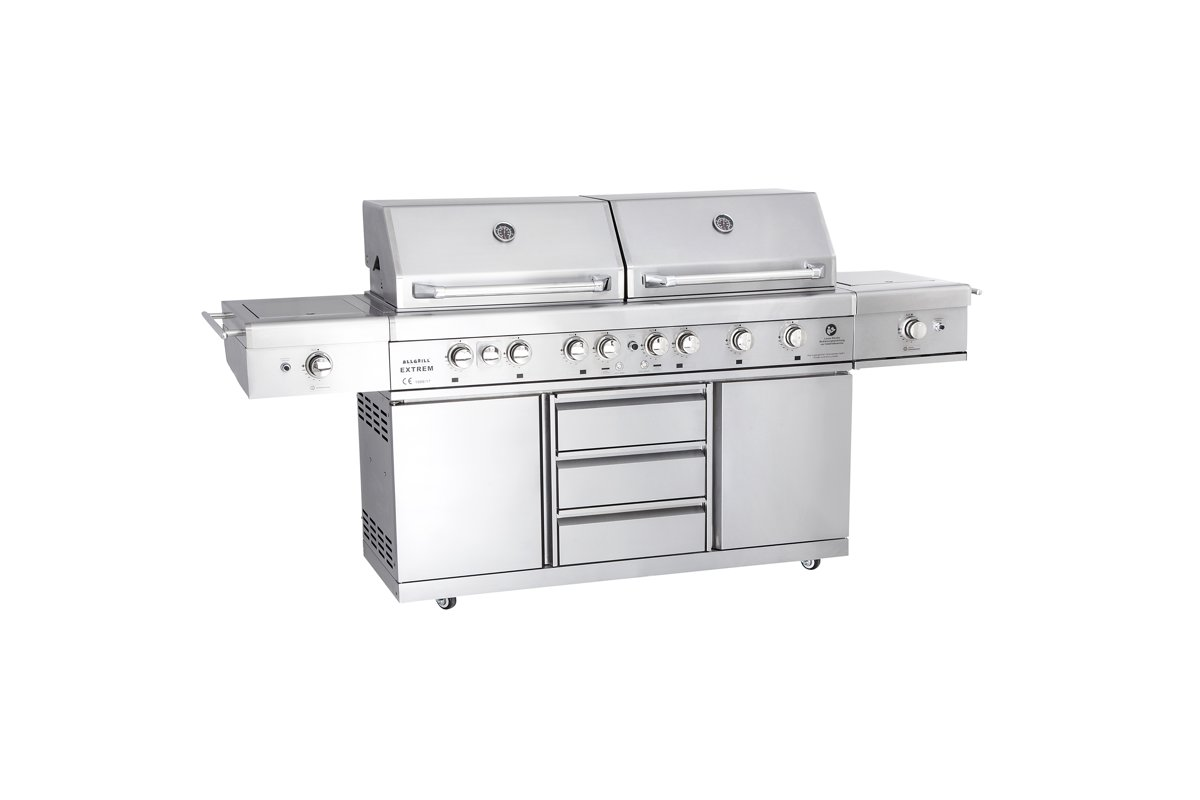 ALL'GRILL - TOP-LINE - EXTREME Light gasbarbecue