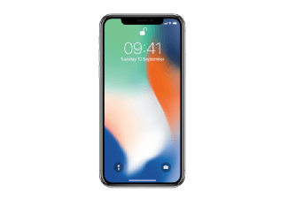 APPLE iPhone X - 256 GB Zilver