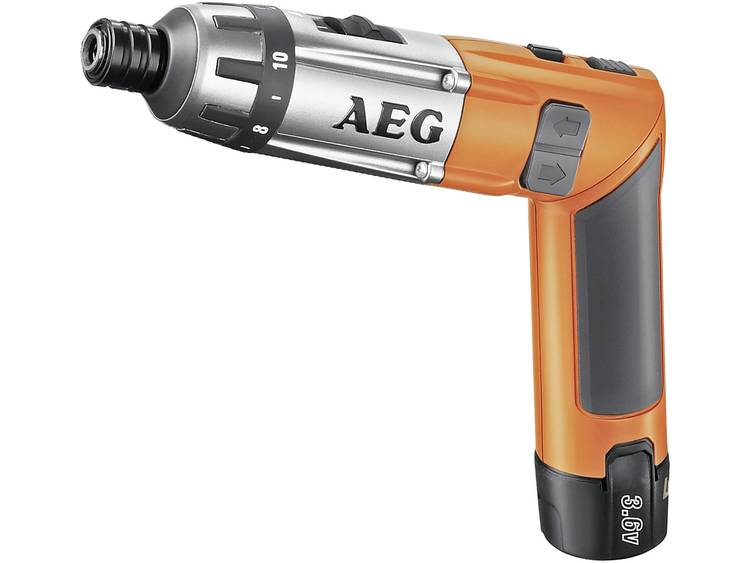 Accuknikschroefmachine AEG Powertools SE 3,6 Incl. 2 accus, Incl. koffer 3.6 V 1.5 Ah Li-ion