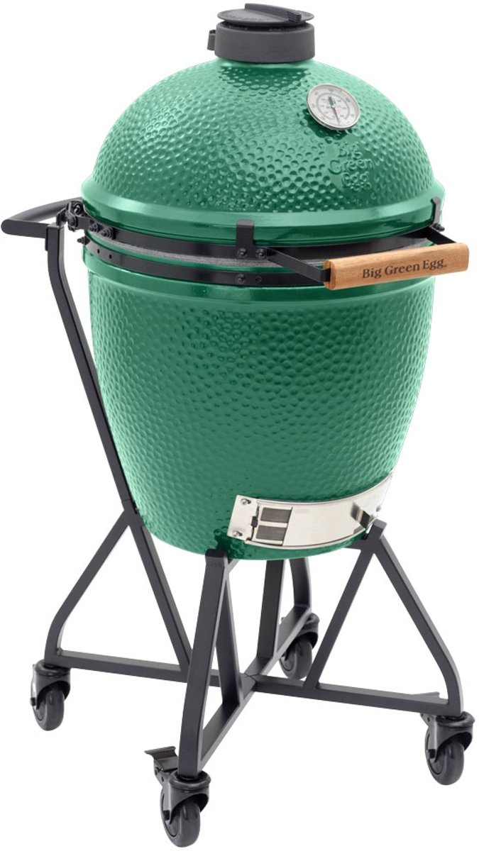 Big Green Egg Large met Integgrated Nest Handler - Compleet