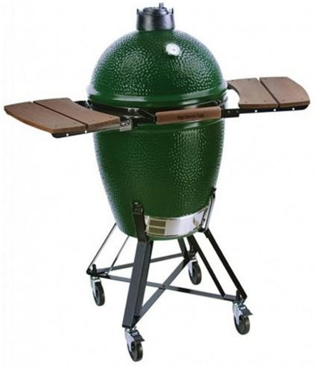 Big Green Egg Medium met Nest en Egg Mates