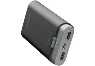 CELLULAR-LINE Portable Charger Dual 7800 mAh Zwart
