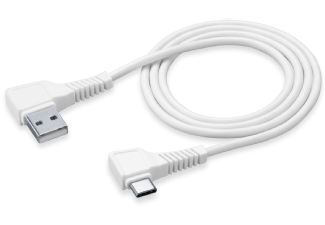 CELLULAR-LINE USB-kabel USB-C Square 1,2 Meter Wit