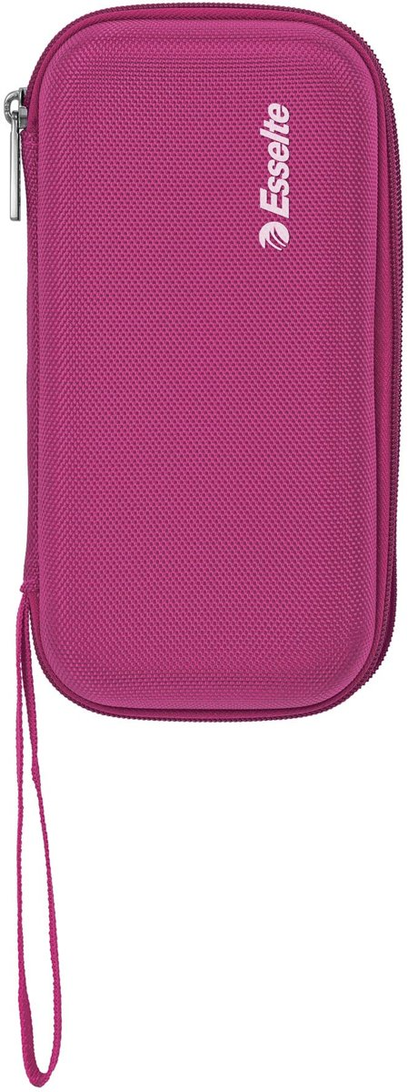 Esselte rekenmachine case (nylon) - Roze