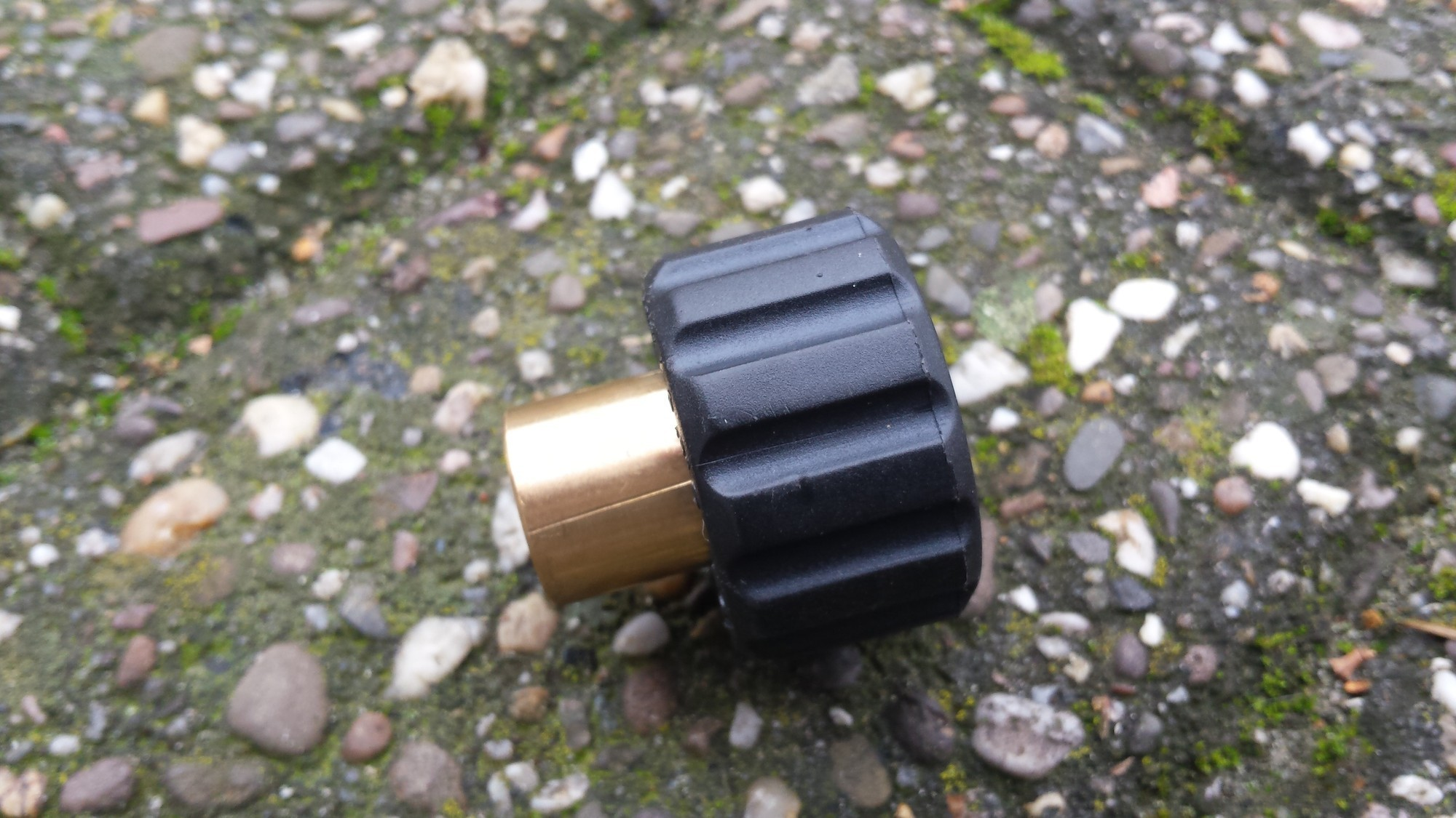 Eurom 155068 Schroefkoppeling - M22 x 1,5 (M)