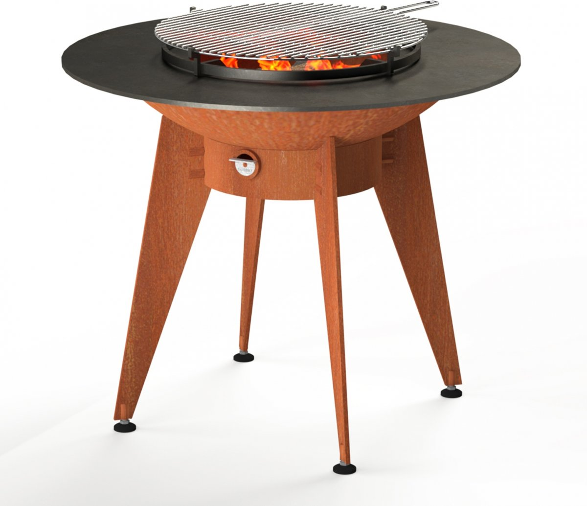 Forno Grill Ring op poten - Barbecue - Vuurschaal - Ø100cm