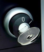 Key Switch slot voor laadstation