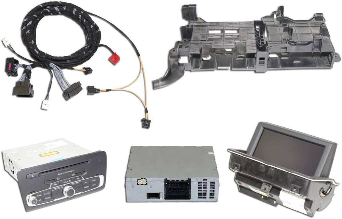 Retrofit Kit 3G MMI navigatie plus Audi A1 8X