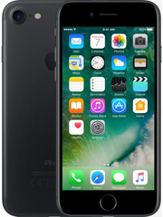 Apple iPhone 7 Plus 128GB Black - A grade i.c.m. Nieuw 1-jarig Tele2 200 min/sms NL + EU + 20GB NL + EU + Handset Categorie 16 0mnd.