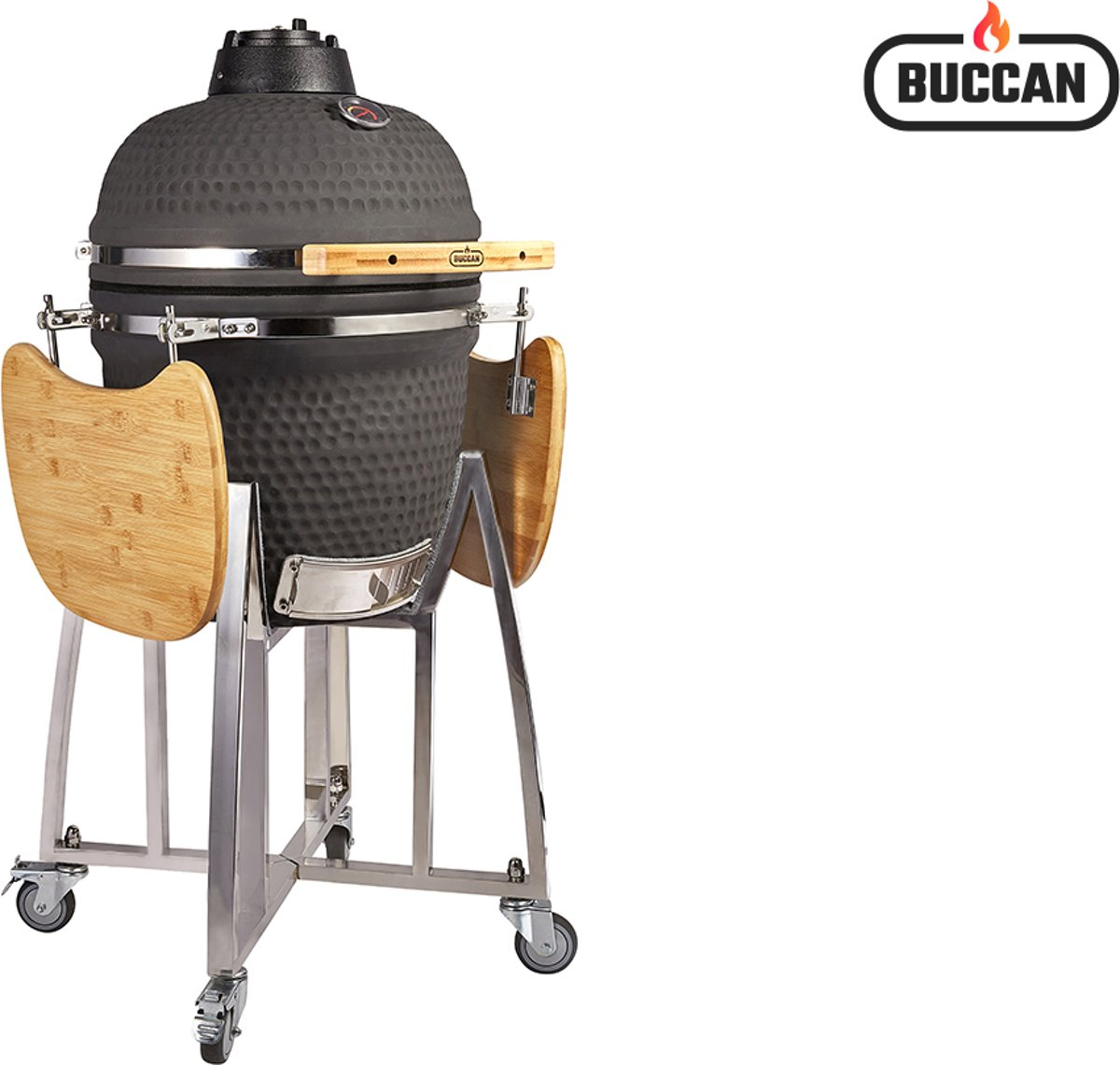 Buccan BBQ - Sunbury Smokey Egg - Large - Zwart