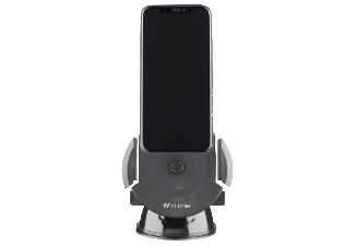 CELLULAR-LINE Car Holder Pilot Force Charging Zwart