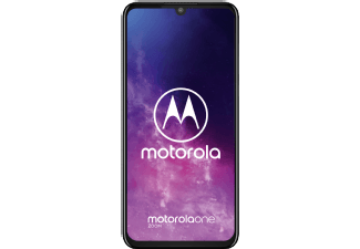 MOTOROLA One Zoom - 128 GB Dual-sim Grijs